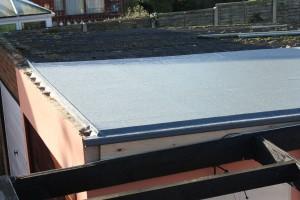 Fiber glass roof