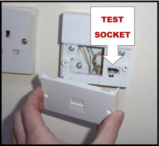 Master socket test